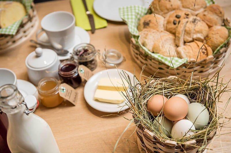 Unser Frühstückskorb