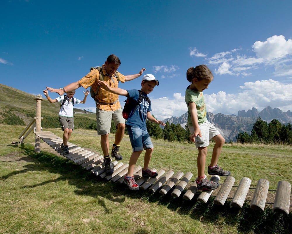 Durante la vostra vacanza escursionistica esplorate la Plose e percorrete il Sentiero del Castagno